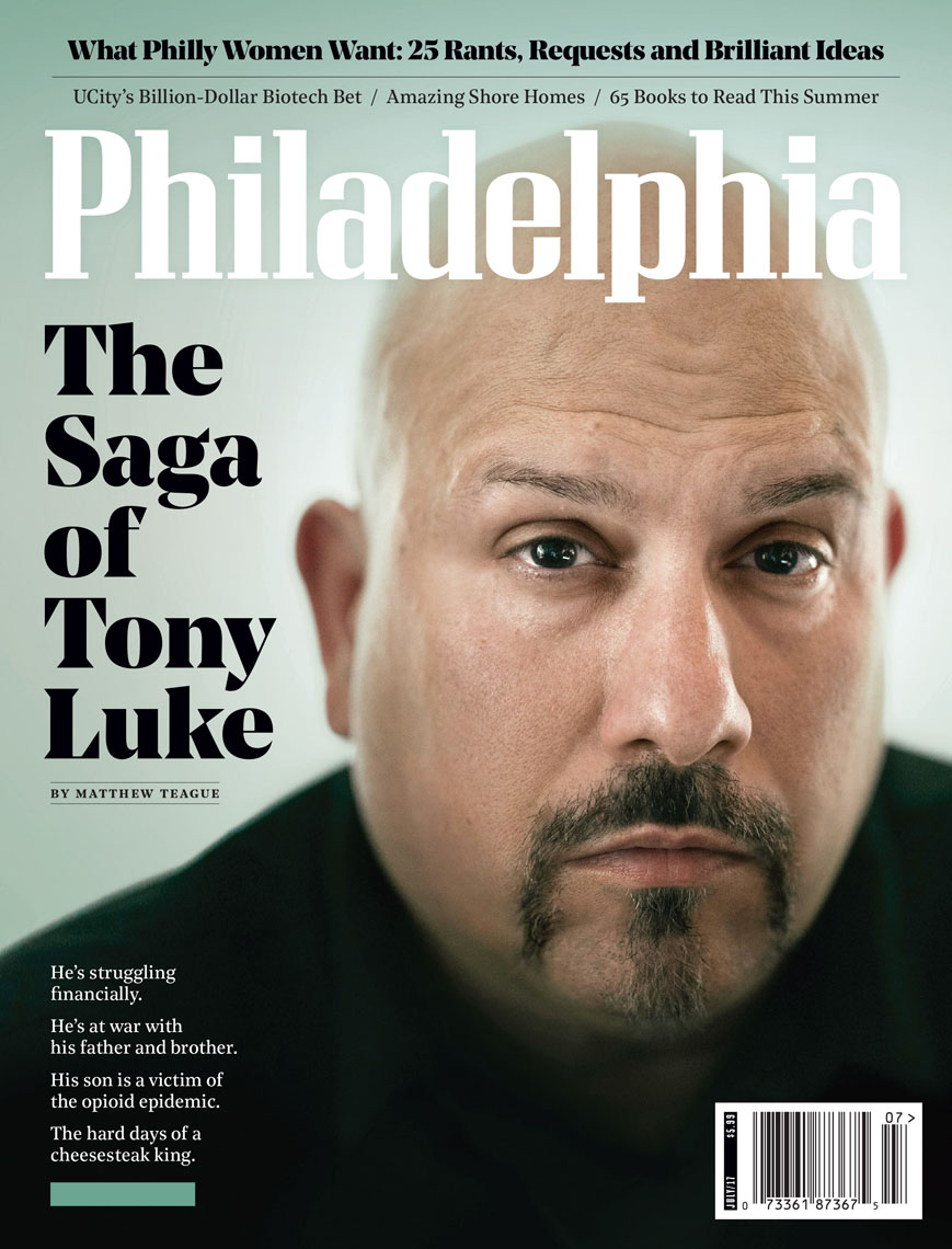 Tony Luke for Philadelphia Magazine