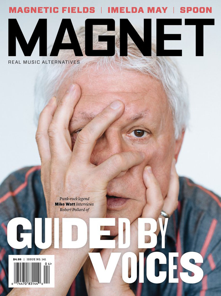 Magnet Magazine cover story with Robert Pollard of Guided by Voices