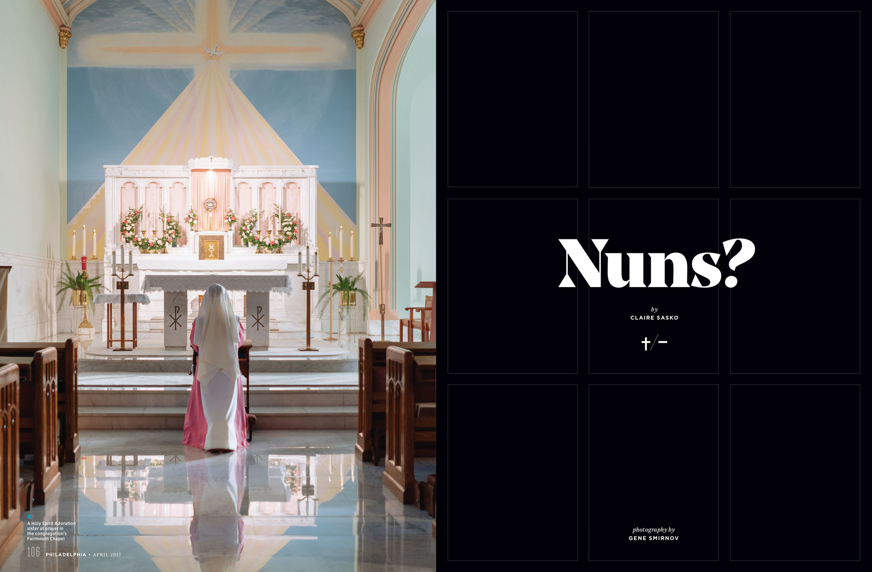 Philadelphia Magazine feature story about the Nuns of the city