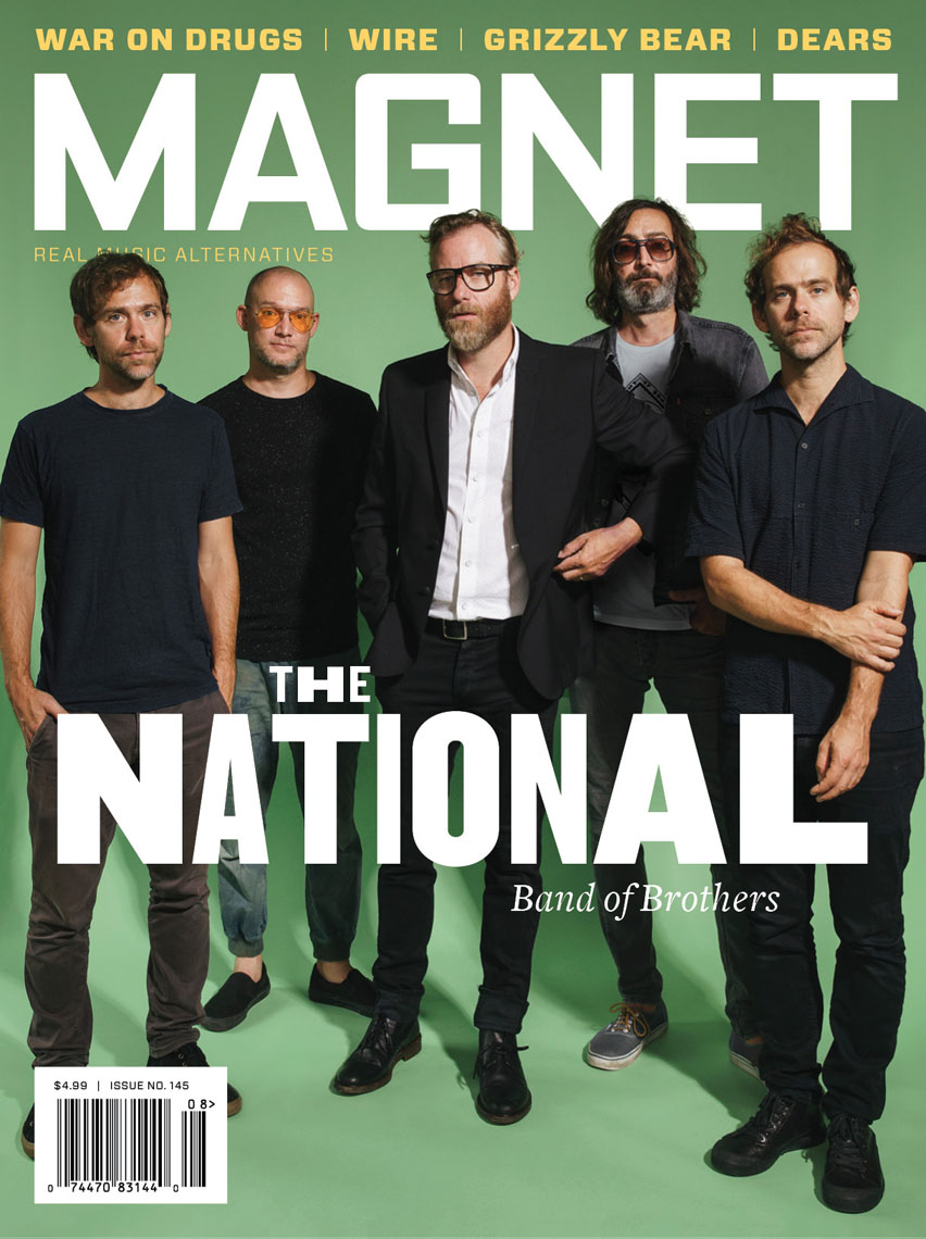 Magnet Magazine cover photo featuring The National