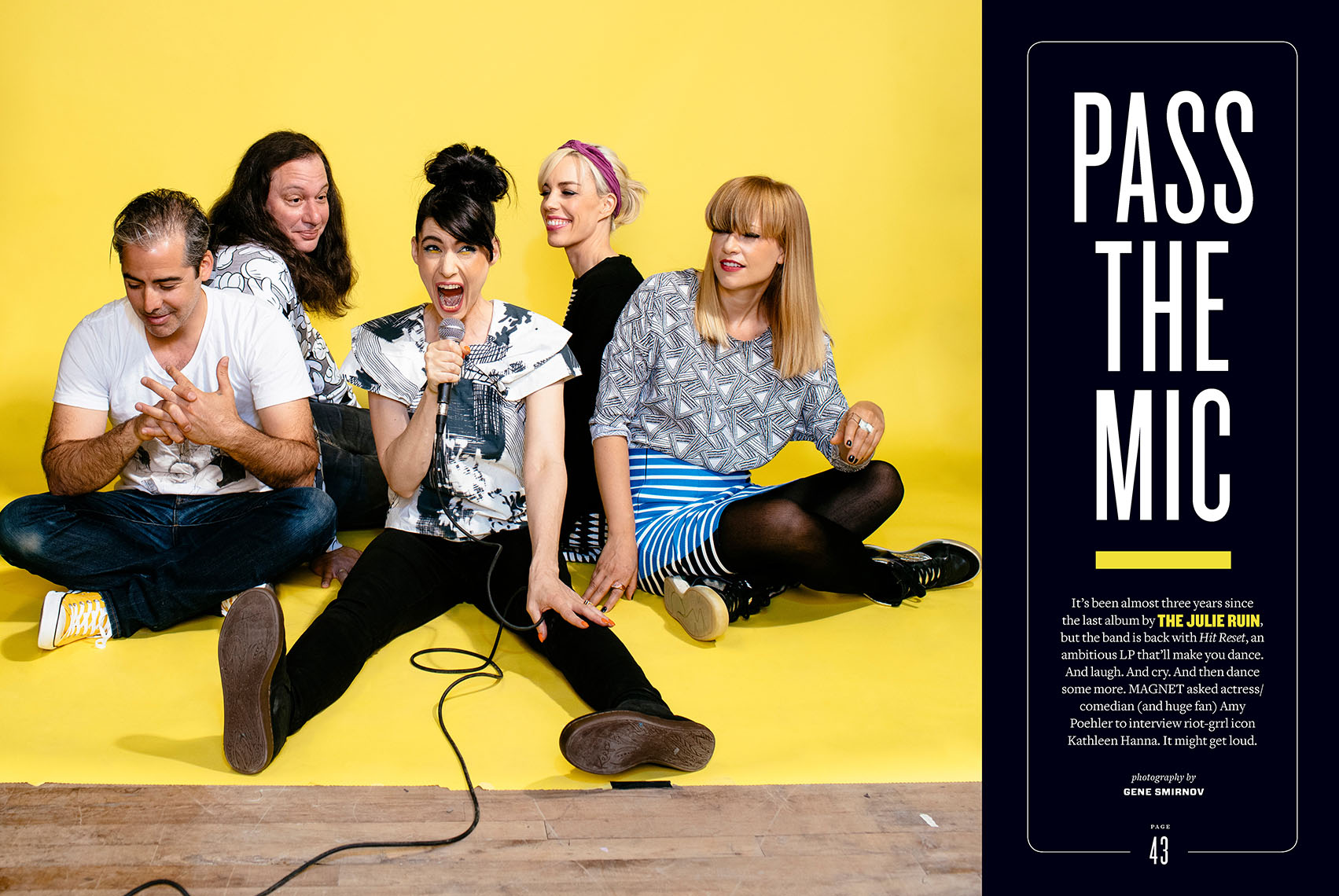 Magnet Magazine featuring The Julie Ruin
