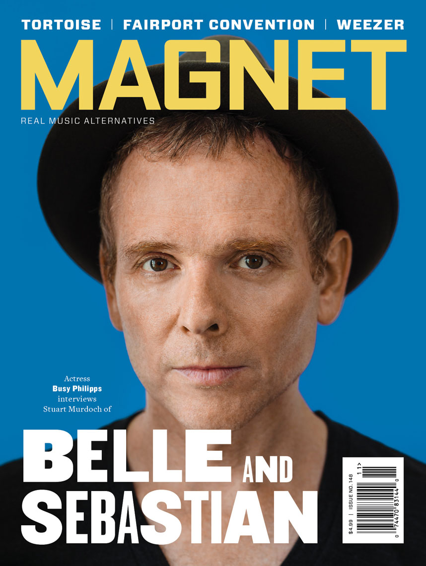 Stuart Murdoch of Belle & Sebastian for Magnet Magazine