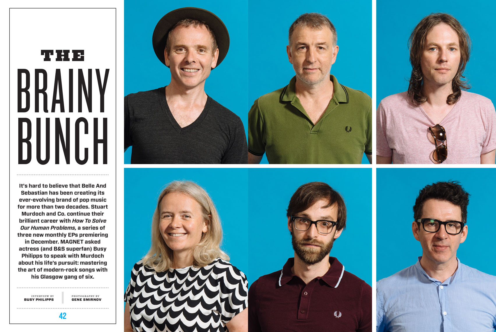Belle & Sebastian for Magnet Magazine