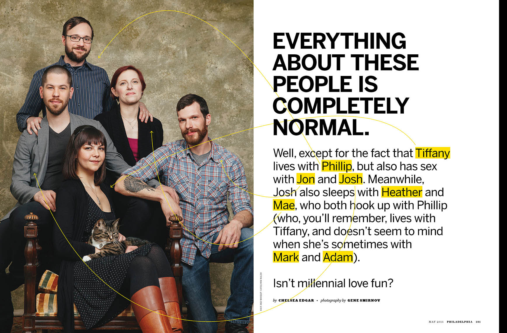Philadelphia Magazine feature about polyamory family