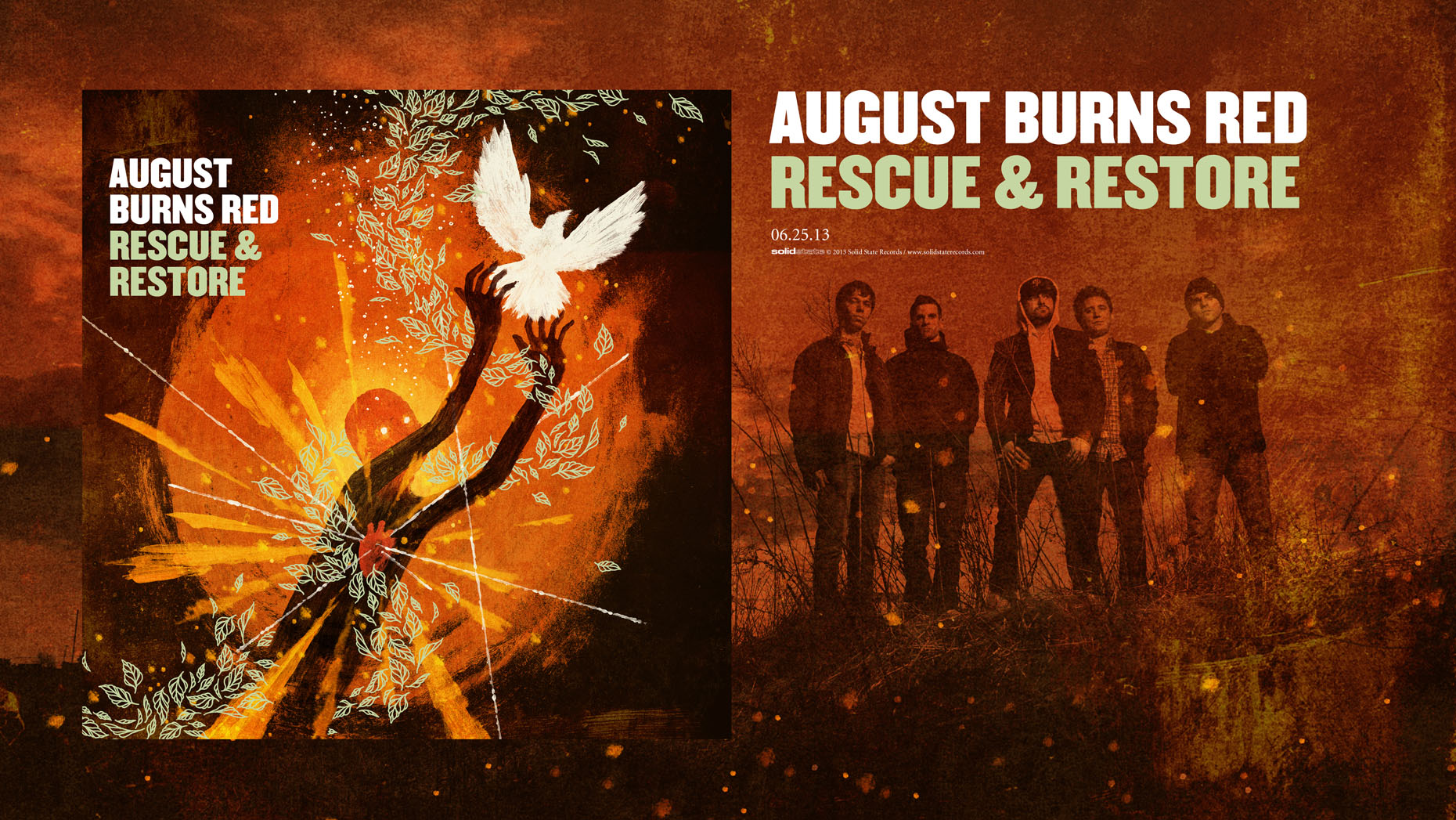August Burns Red promotional poster