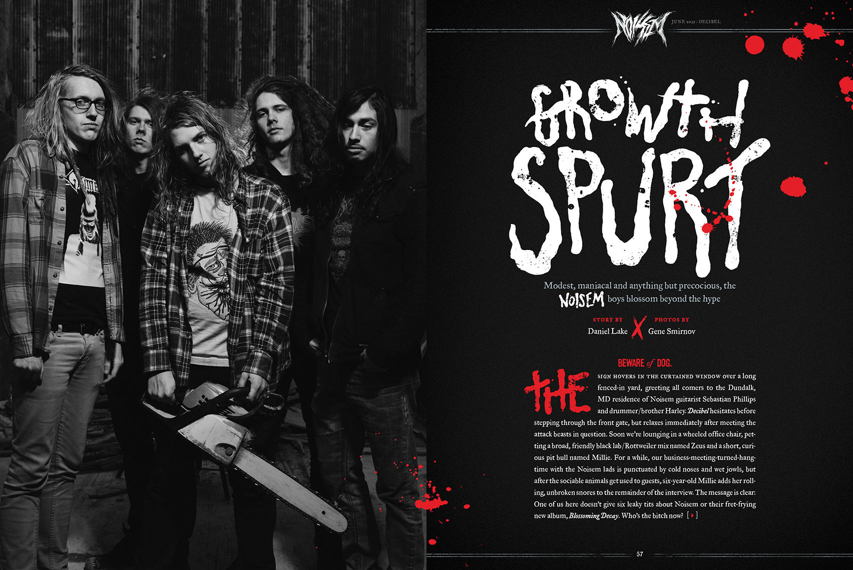 Decibel Magazine feature Noisem
