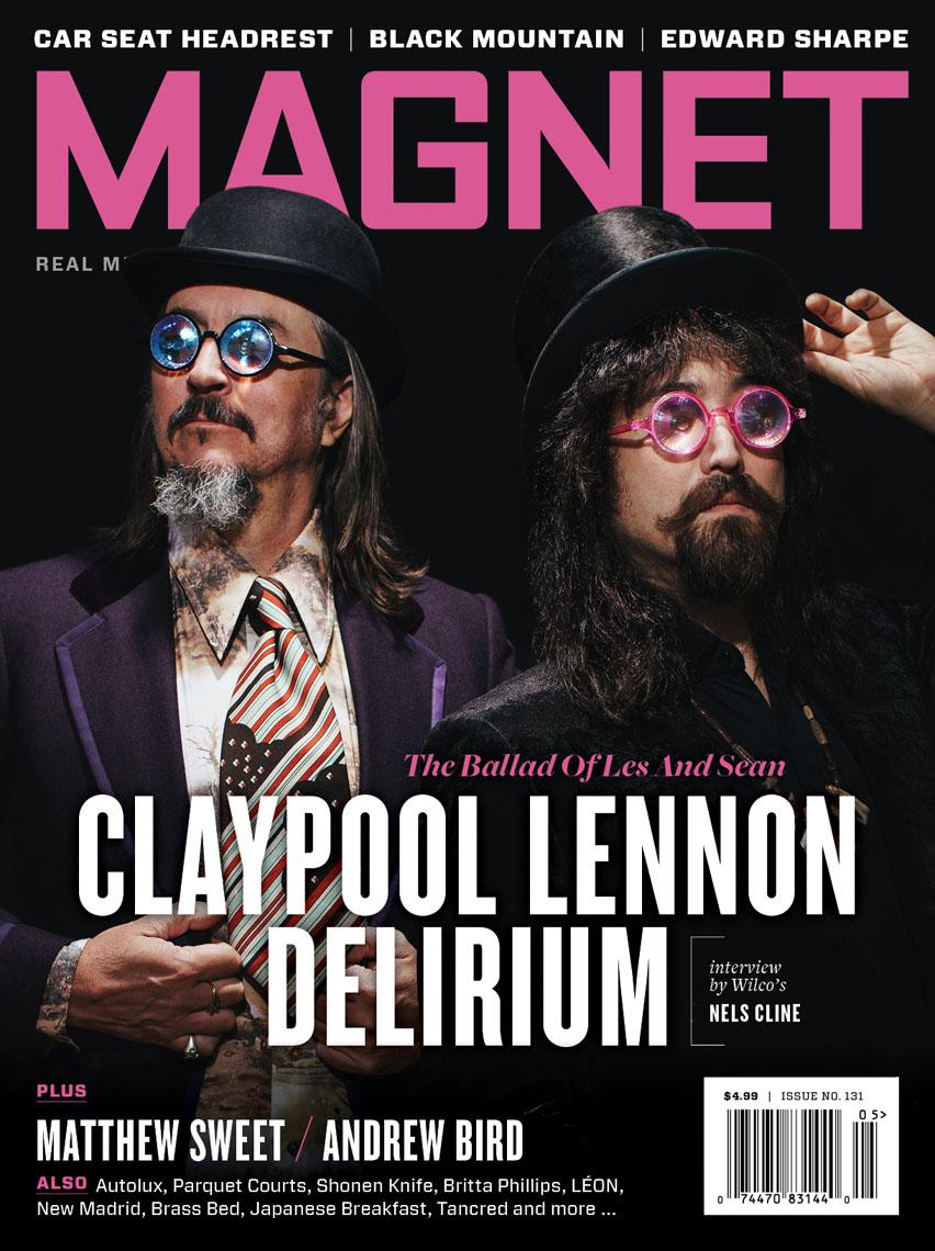 Les Claypool and Sean Lennon for Magnet