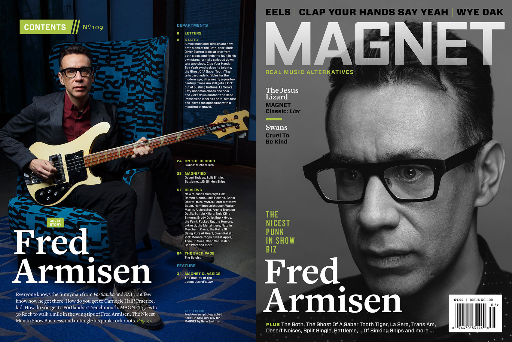 Fred Armisen for Magnet Magazine
