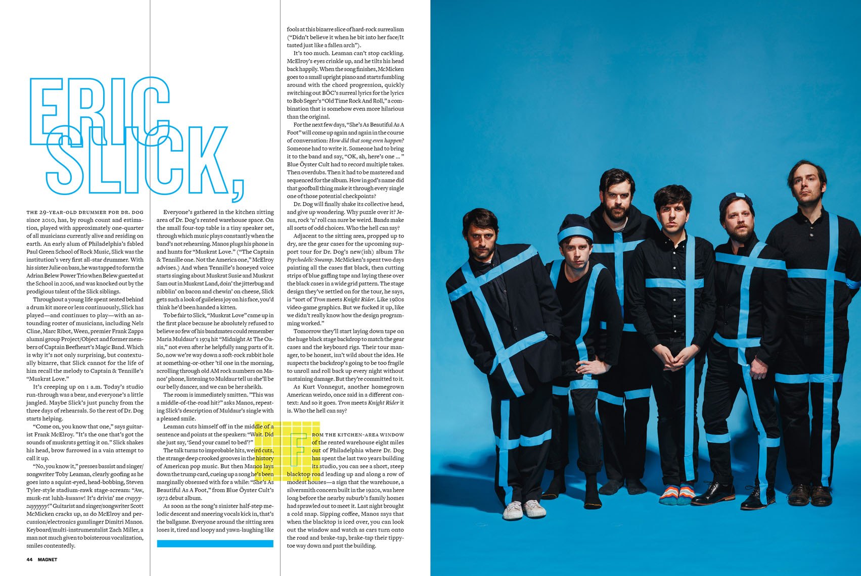 Dr.Dog for Magnet Magazine