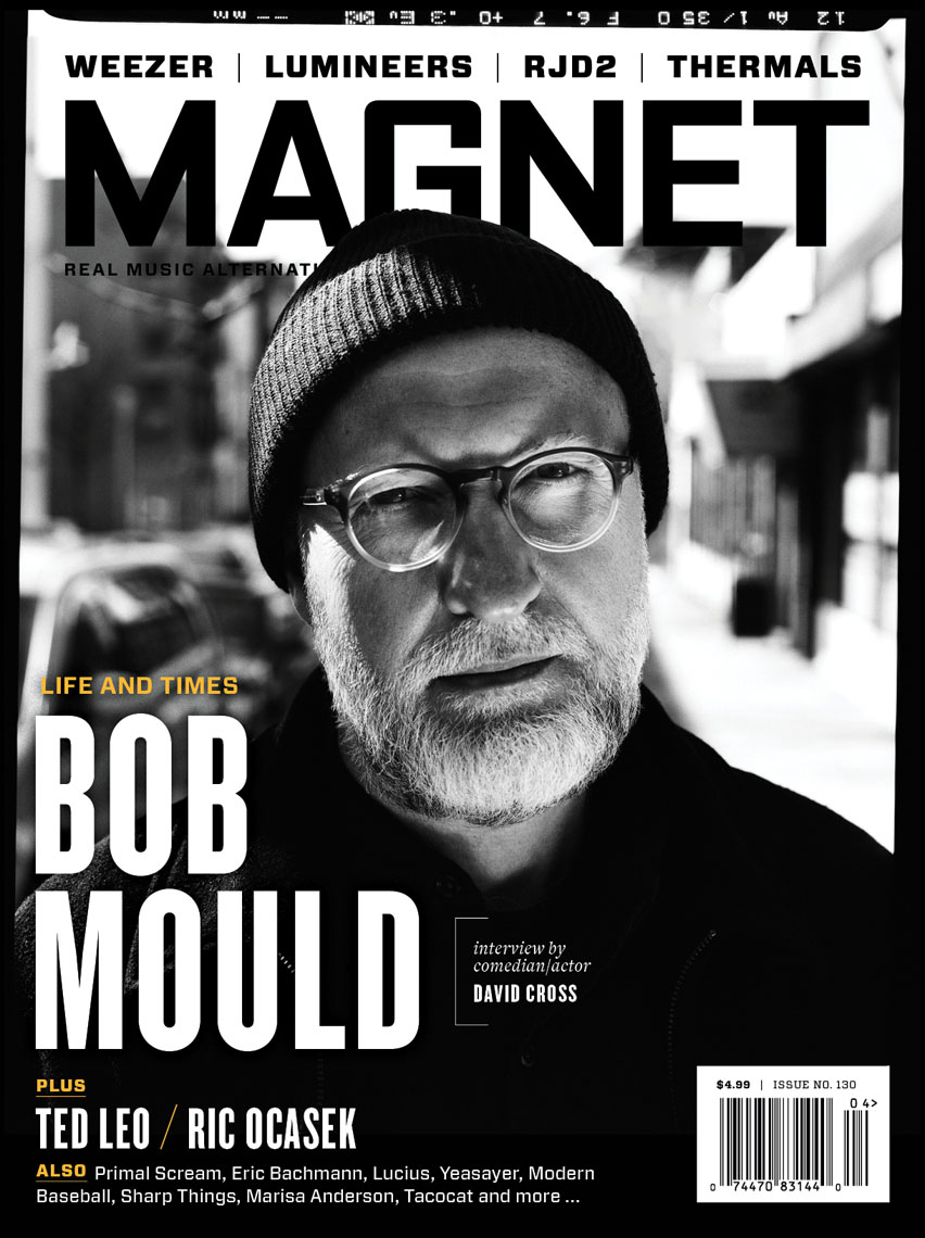 Magnet magazine cover featuring Bob Mould
