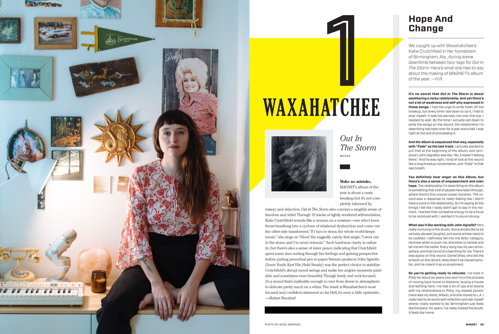 Katie Crutchfield of Waxahatchee feature