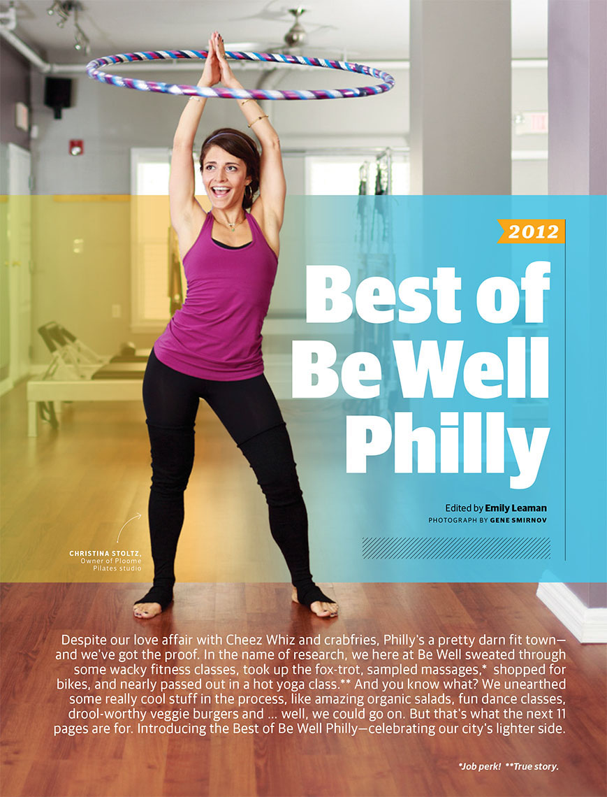Be Well Philly featuring Ploome pilates Christina Stoltz