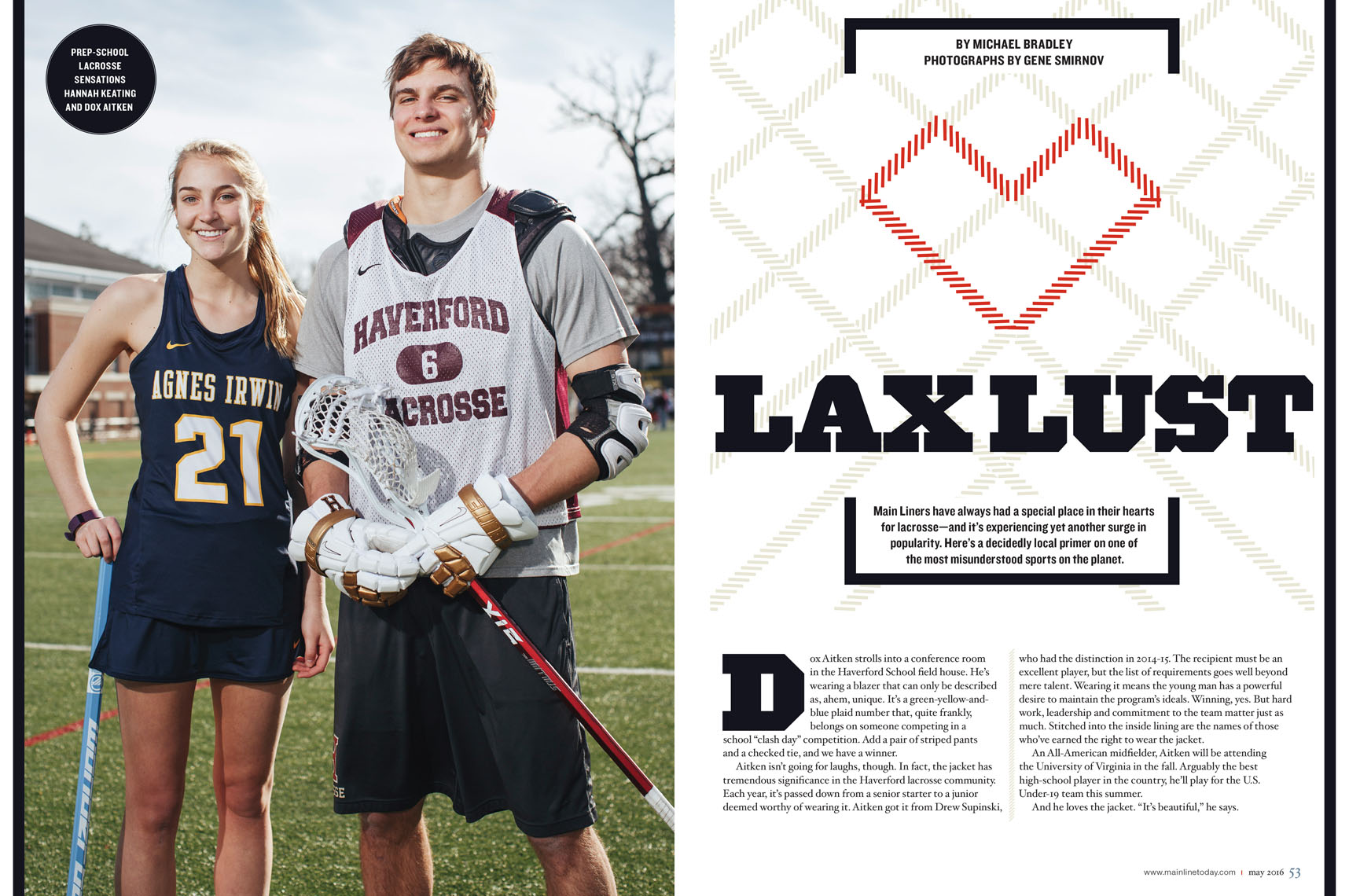 LaCrosse feature in Mainline Today
