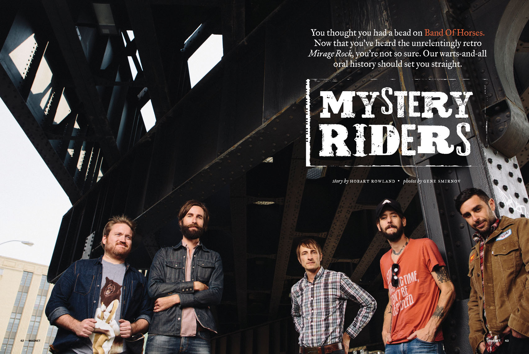 Band of Horses for Magnet Magazine