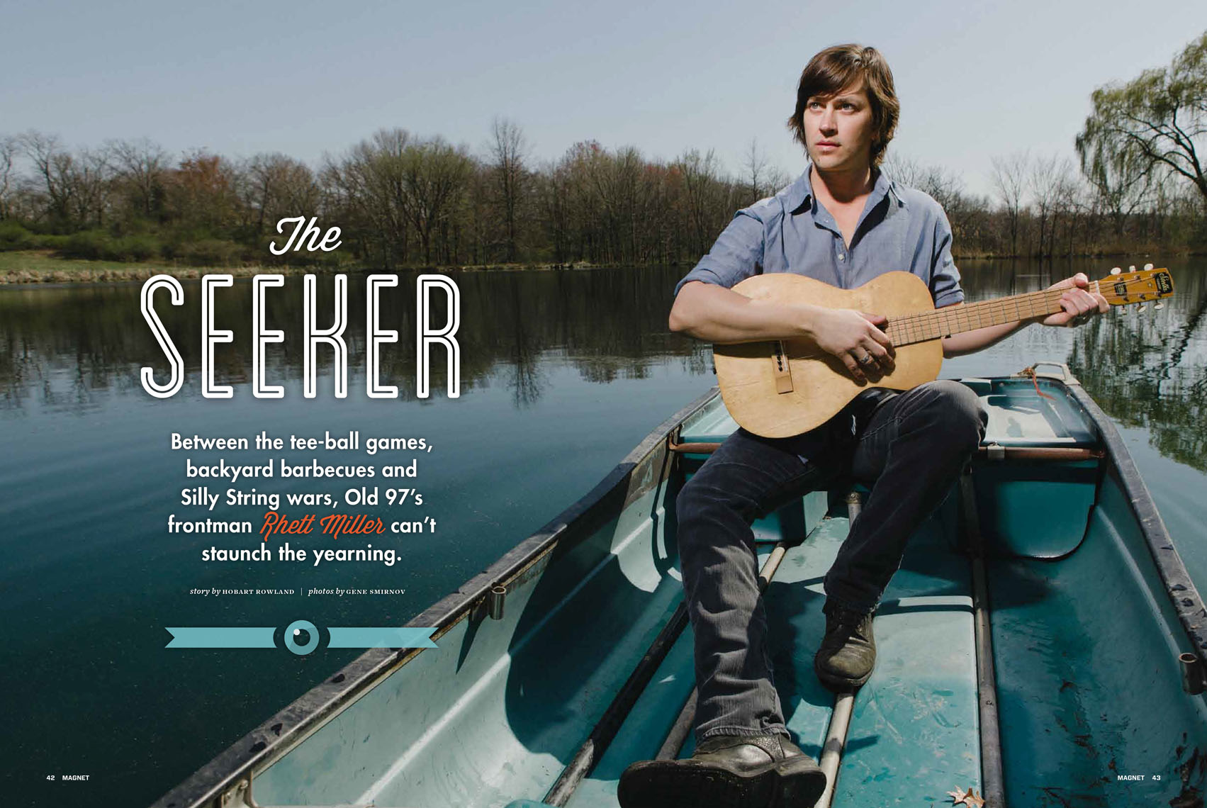 Rhett Miller for Magnet Magazine