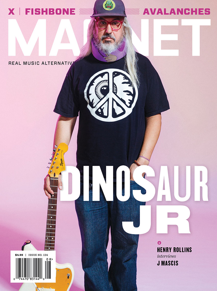 Magnet Magazine cover featuring J Mascis of Dinosaur Jr.
