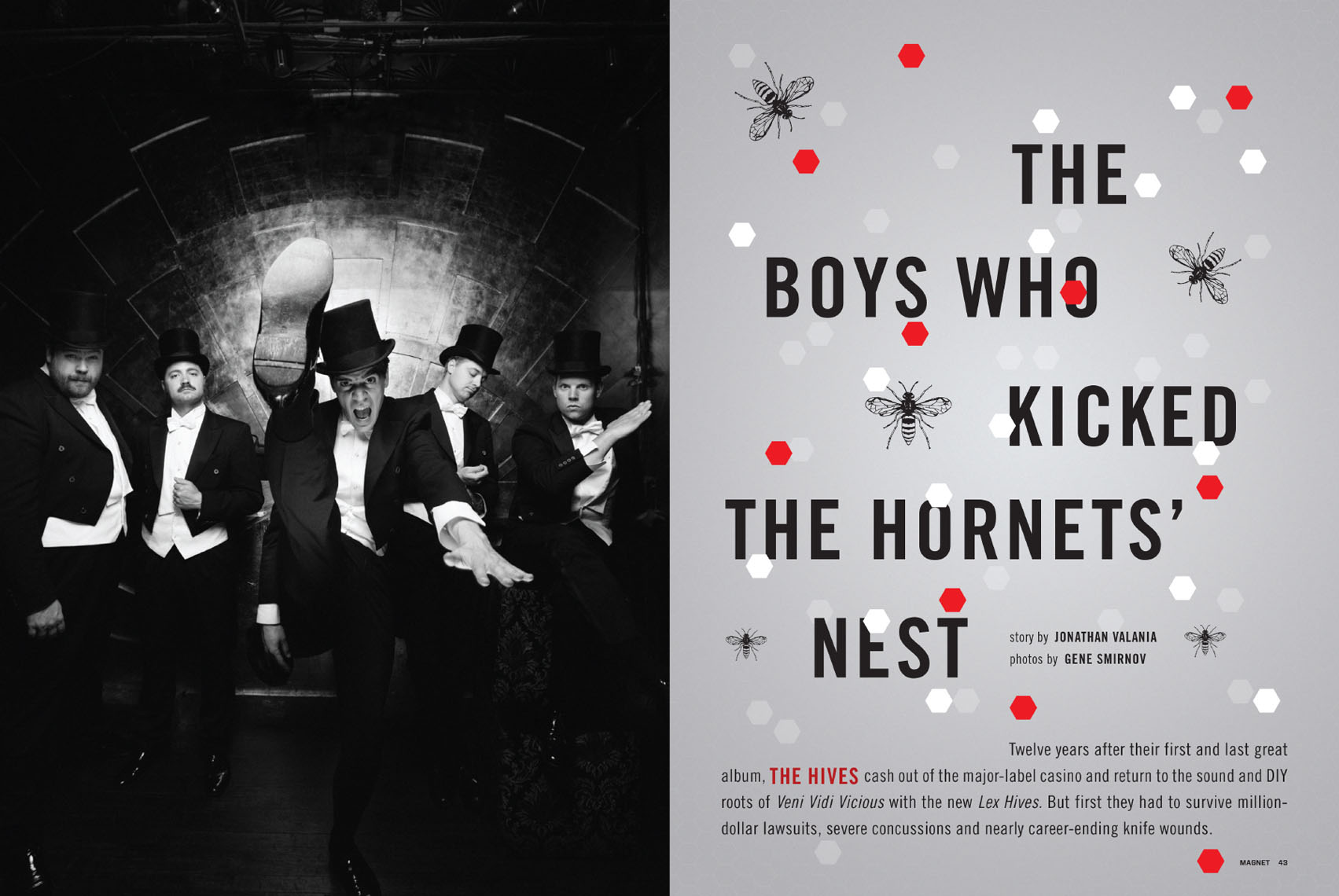 The Hives for Magnet Magazine