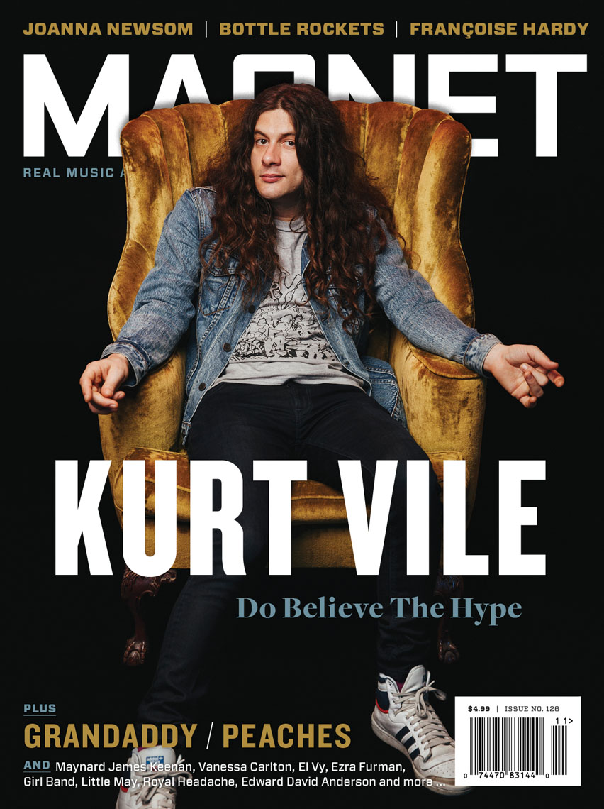 Kurt Vile for Magnet Magazine