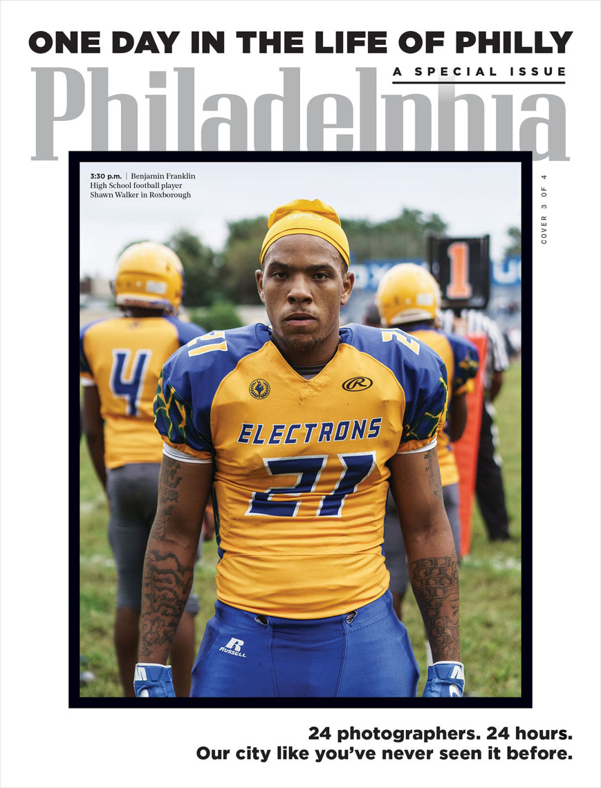 Philadelphia Magazine cover photo