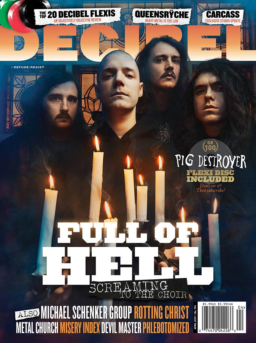 Full of Hell for Decibel Magazine