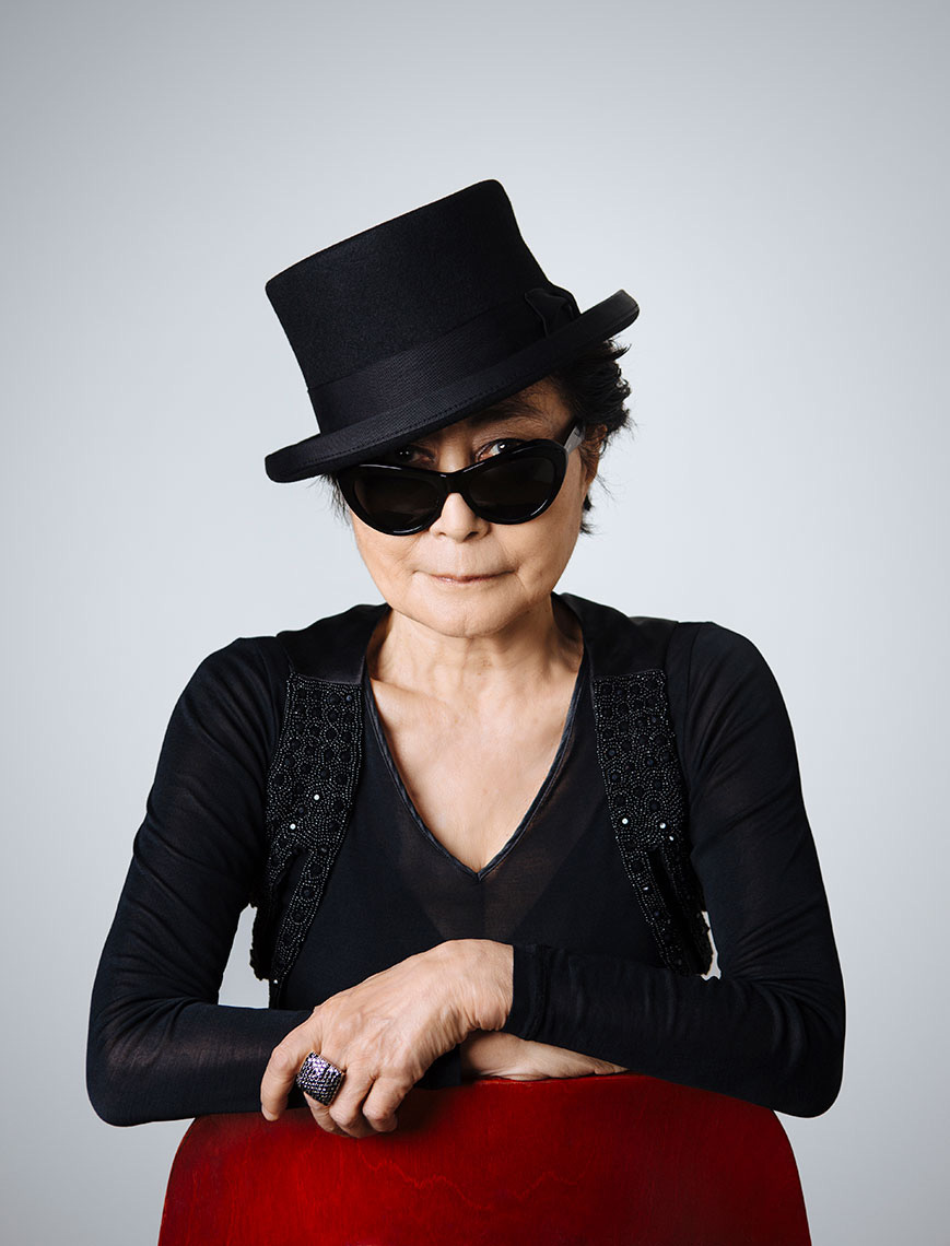 Yoko Ono in New York City