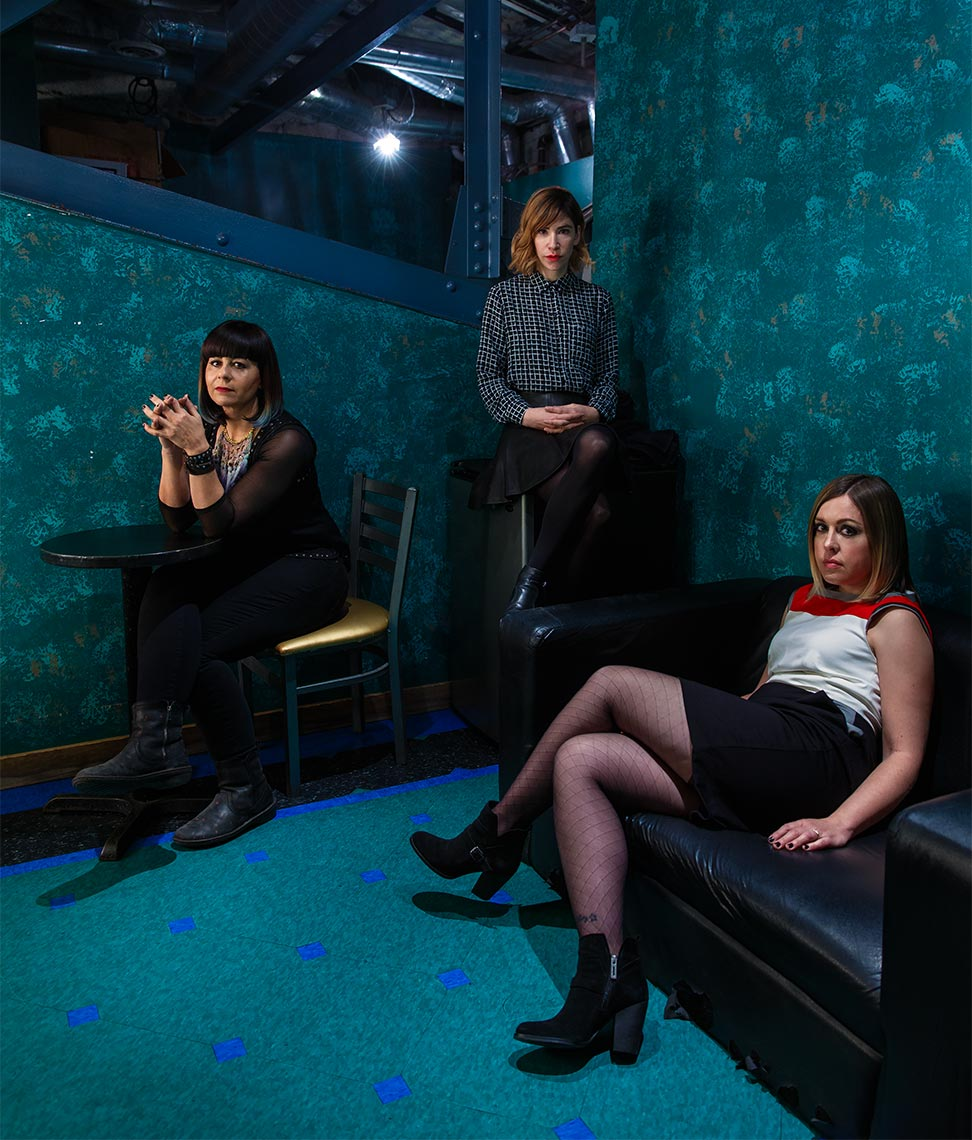 Sleater-Kinney in Baltimore at 9:30 club