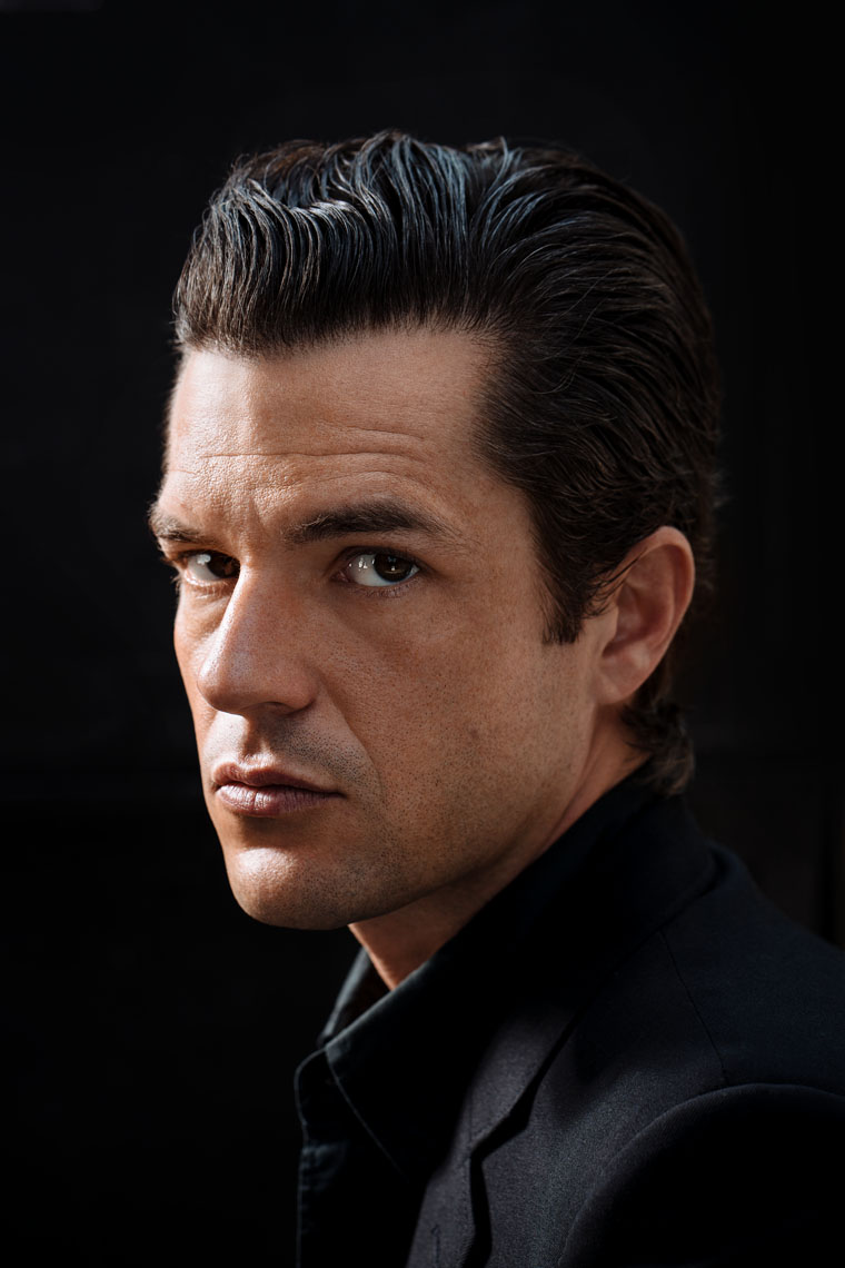 Brandon Flowers of The Killers, portrait