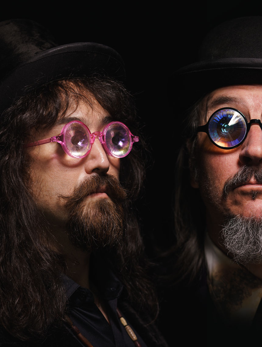 Sean Lennon & Les Claypool of Lennon Claypool Delirium