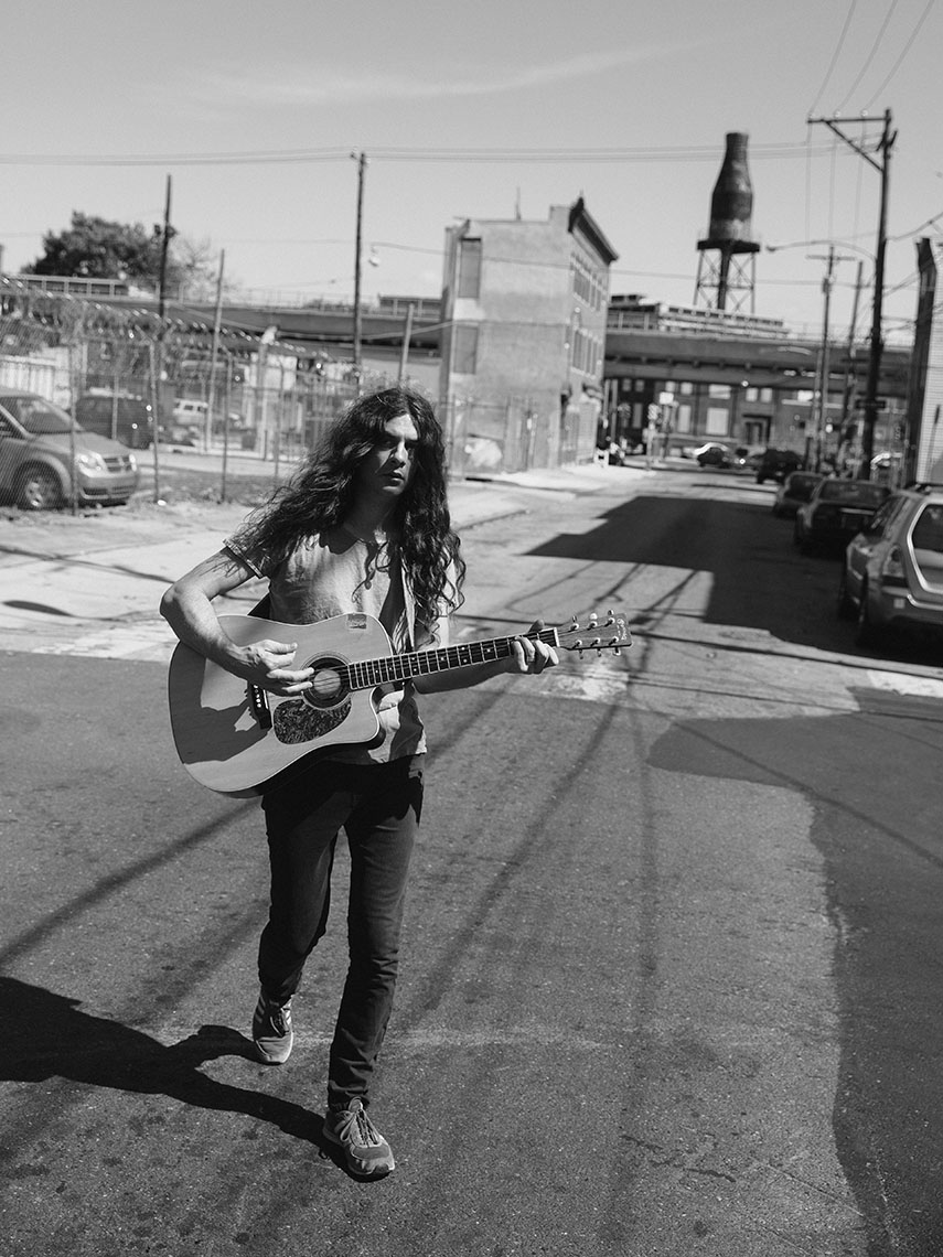 Kurt Vile in Kensington neighbourhood of Philadelphia