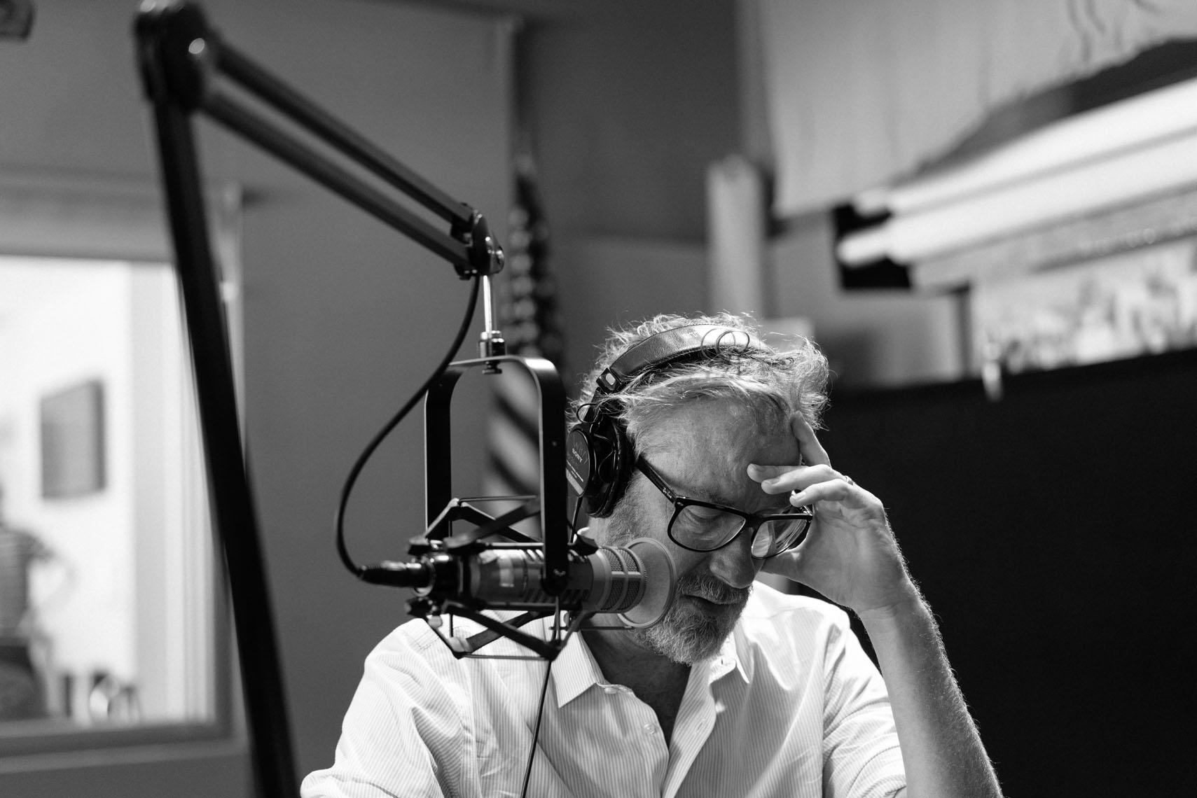 Matt Berninger doing a radio interview